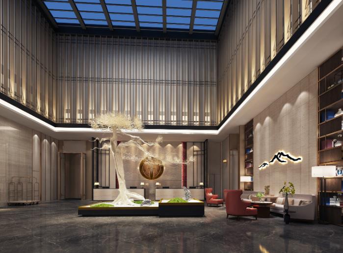 忆程酒店大厅