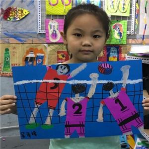 童彩童畫少兒美術學習