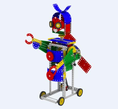 濼喜機器人細節
