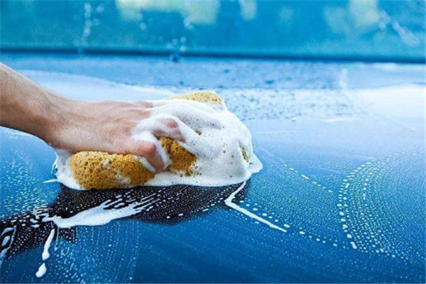 藍象自助洗車展示