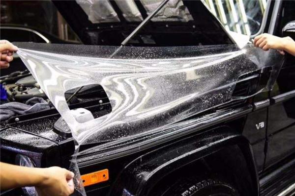 外星人汽车贴膜清洗