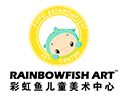 彩虹鱼儿童美术品牌logo