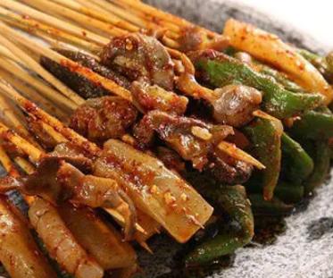 串串香小吃海带