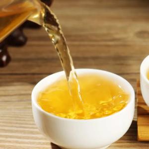 原山六堡茶茶汤清澈