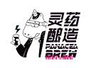 靈藥釀造酒館品牌logo