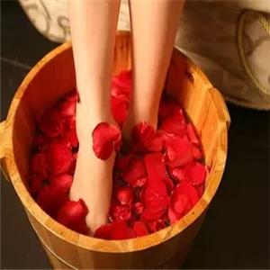 騰遠足浴花朵