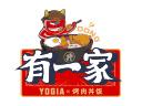 有一家烤肉丼饭加盟品牌logo