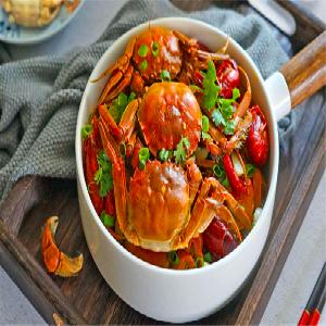 谷粮川肉蟹煲-美味