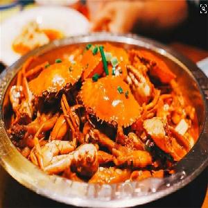 谷粮川肉蟹煲-新鲜