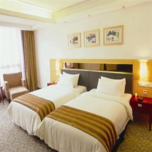 海聯商務大酒店雙人床