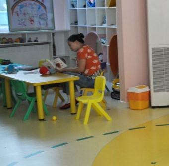香川幼兒園教室一角