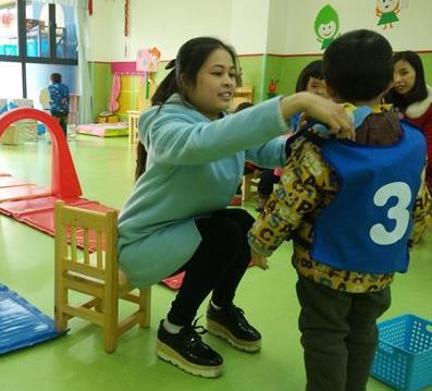 倍樂園幼兒教育互動