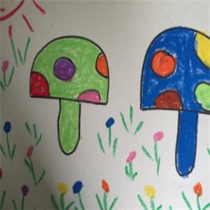 精藝畫室蘑菇