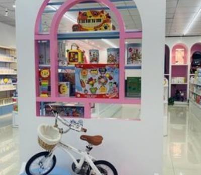 愛來母嬰生活館展示