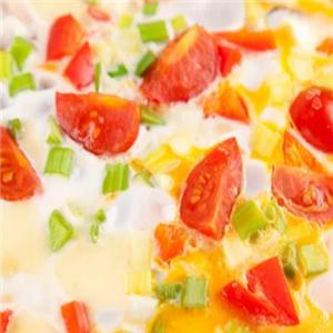 開心披薩西紅柿