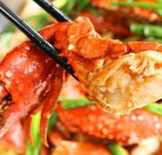椒麻鸡肉蟹煲