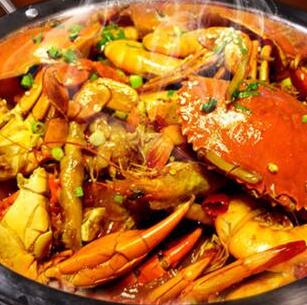 椒麻鸡肉蟹煲健康