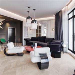 榮祿通裝飾客廳
