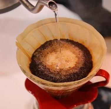 研磨咖啡泡沫