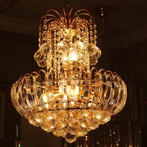 金达水晶灯质量很好