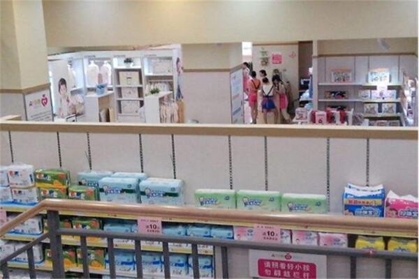 彩纳爱婴母婴店展示
