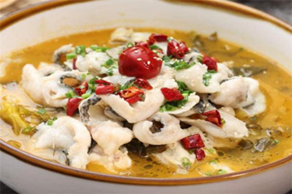 豐味酸菜魚特色