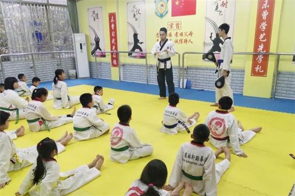 林轩跆拳道馆学生