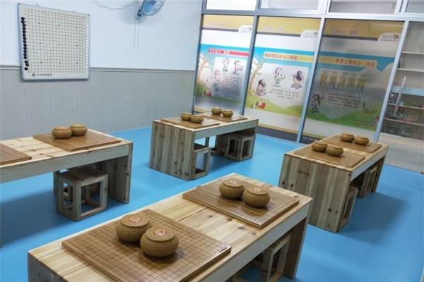 天元围棋教室环境