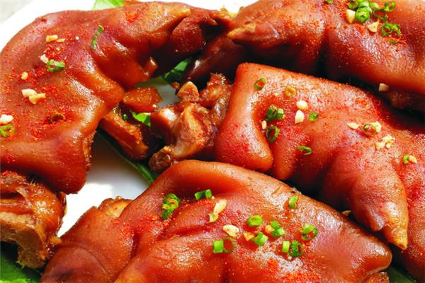 火味烤猪蹄美味
