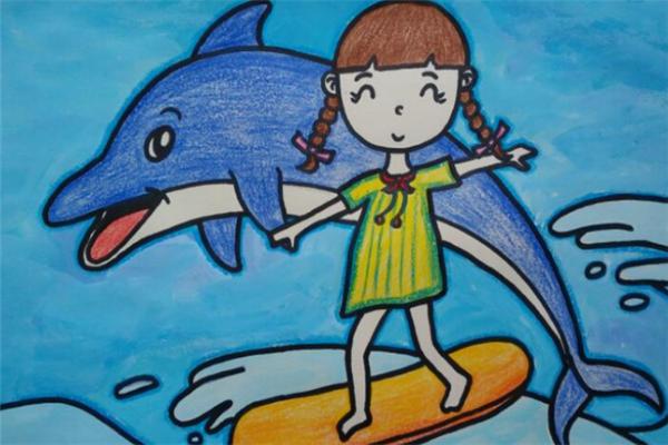 精藝畫室海豚
