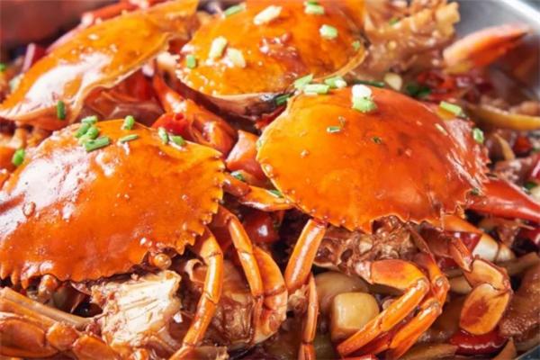 椒麻鸡肉蟹煲营养