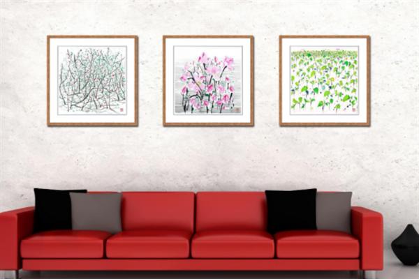 絲情畫意裝飾花卉