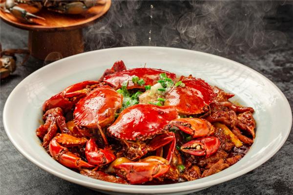 阿陶肉蟹煲香辣味