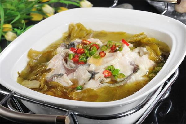 御鮮渡酸菜魚酸味十足