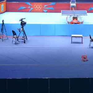 天速地板乒乓球地板