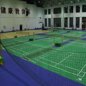 天速地板羽毛球地板
