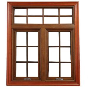 得缘门窗实木窗