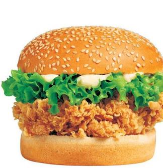 杰西五炸鸡汉堡安全