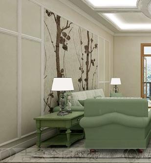 古典枫情集成墙板环保