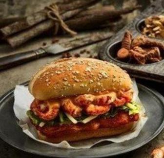 煣煣小龙虾堡健康