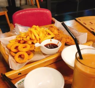 小白家韩式料理洋葱圈