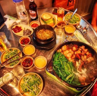 小白家韩式料理韩国美食