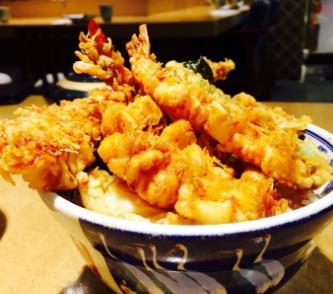天喜黄金炸虾饭酥皮炸虾
