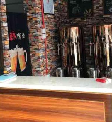 叁金叁精酿啤酒前台