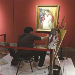 梦马美术画家