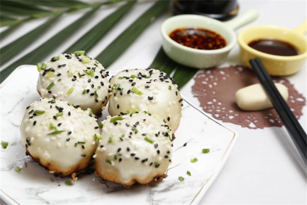 上海特色小吃店芝麻
