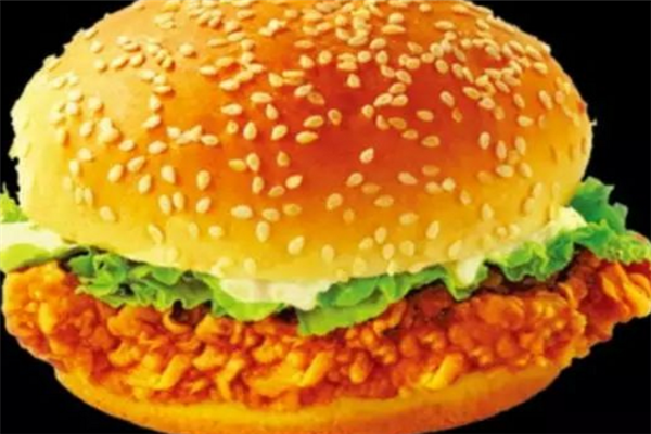 佳佳乐炸鸡汉堡营养