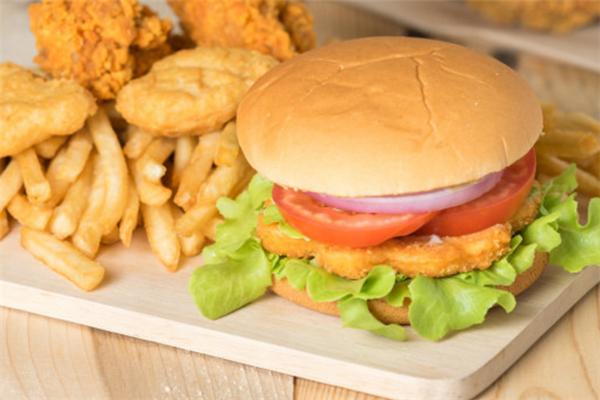 佳佳乐炸鸡汉堡健康