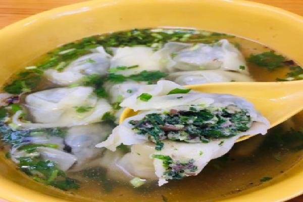 林记老上海馄饨铺荠菜馅