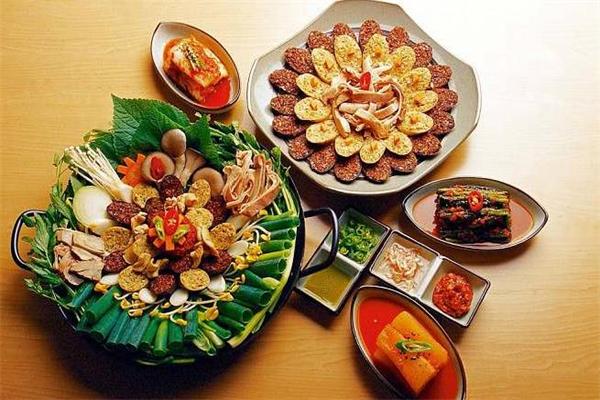 小白家韩式料理美食